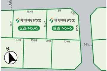 NEW 分譲地情報『アヴェニュー欅』<br>《東根市蟹沢・2区画》